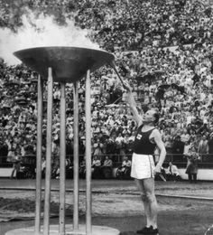 Olympic Cauldron - Helsinki, Finland - 1952 Summer Olympic Games