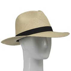 9f70162c4797e FEDORA PACKABLE FOLDABLE Panama Straw Hat CLASSIC 7 3 8 at Amazon Men s  Clothing store