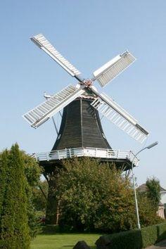 Flour and grinding mill De Liefde, Uithuizen, the Netherlands