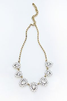 Statement Necklaces for Women, Gold Necklaces, Statement Necklaces – Morning Lavender