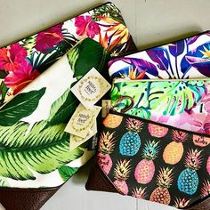 Even more reasons to love Spring! These @sandyfeethawaii zipper clutches are in stock now in so many fun patterns with vibrant colors and patterns! Coming soon online! #Hawaii #bigisland #hawi #bigislandmobettah #luckywelivehawaii #hawaiilife #shopsmall #shoplocal #supporthandmade #hawaiiinstgram #islandboutique #specialtyboutique #madeinhawaii #instagood #hilife #hawaiinei #aloha #mahalo #onlineboutique #onlineshopping #islandlife #livealoha #hellospring #purse #clutch #coinpurse #vibrant