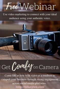 Come have fun and get comfortable on camera this Thu, May 12, 2017 at 11am pst / 2pm est / 7pm UK time.