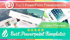 [PPT] Top5 // Best Powerpoint Templates | Intro | Full HD ᗍ Watch Video on YouTube: http://www.youtube.com/watch?v=pySZEYvP6lc