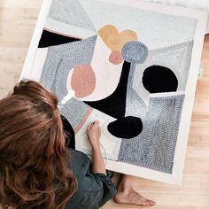 Rose Pearlman - punch rug