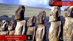 #LugaresCuriosos: Ilha de Páscoa ↪ Por @renialisondiniz e @curiosocia. Você já deve ter visto aqueles rostos gigantescos de pedra, não? Essas famosas esculturas ficam na Ilha de Páscoa, parte do Chile, que você vê na série especial #LugaresCuriosos, uma parceria de Curioso e Cia. e Renialison Diniz! Veja só! http://www.curiosocia.com/2015/04/lugarescuriosos-ilha-de-pascoa.html