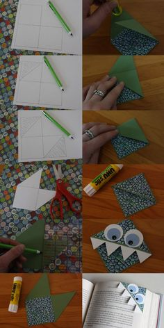 An easy to make bookmark.