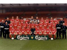 2014 Liverpool FC All Team Wallpaper