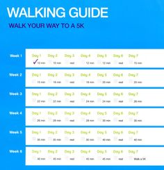 Walk A 5k Guide Going To Start This
