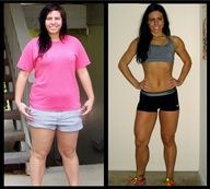 fitness / The diet that she used for her amazing transformation! :)