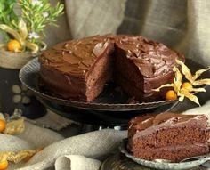 Pastel de chocolate intenso al microondas