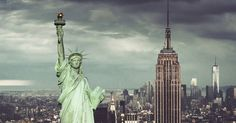 NOVA YORK (EUA): Nova York não tem a beleza poética de Roma ou Paris, mas é tão popular entre turistas do mundo inteiro (e tem tantos símbolos famosos, como a Estátua da Liberdade e o Empire State Building) que merece estar nesta enquete