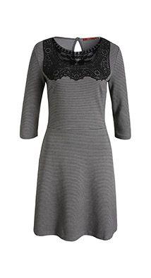 Festeres Baumwoll Jersey Kleid