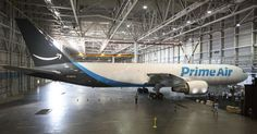 Amazon's shipping ambitions are now sky-high     - CNET  Amazon One is clear for takeoff.  The e-commerce heavyweight on Friday revealed one of its new branded cargo airplanes which it will also showcase this weekend at the Boeing Seafair Air Show in its hometown of Seattle. Dubbed Amazon One the plane is emblazoned with the Prime Air name on the sides and Amazons smile logo on the tail. It will be flown and operated by partner Atlas Air Worldwide.  Amazon created long-term partnerships with…