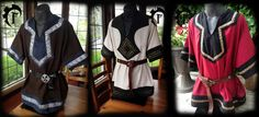 Customizable viking tunic,medieval,fantastic,trim, larp, clothing by FeralCrafter on Etsy https://www.etsy.com/listing/164790033/customizable-viking