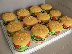 Biddy Bear Cupcakes: Crabby Patty Cupcakes