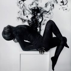 Valeria Chorozidi is a fine art photographer from Greece who is ever-drawn to the darkness of things.  #photography #darkart
