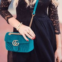 The new Gucci Marmont collection is a must have! Read my new post on www.bags-addict.com