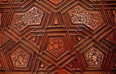 Topkapi Palace Door details #wood #door #design #turkish #istanbul #turkey