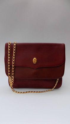 Sale CARTIER Must de Cartier Vintage Burgundy Leather 97b596e843