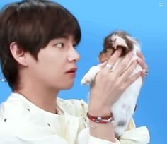 BTS Plays With Puppies While Answering Fan Questions // #V