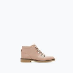ZARA - SHOES & BAGS - LEATHER MOUNTAIN BOOT