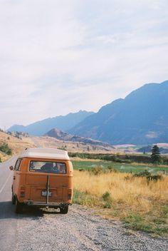 Model: VW T2 Westfalia, Location: In Route from Saskatchewan to Whistler   Van Life