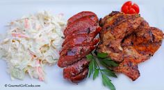 "Gourmet Girl Cooks: Easy Coleslaw & ""Mixed Grill"""