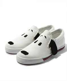 f6a156a98c kiskex  Candy Stripper   SNOOPY SLIP-ON... Snoopy ShoesPainted ...