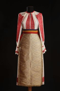 #RomanianBlouse. Banat, 1920. Marius Matei collection Folk Costume, Costumes, Historical Women, Two Piece Skirt Set, Dresses For Work, Carving, Textiles, Traditional, Clothes For Women