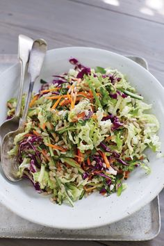 Don't be fooled by the name. This delightful blend of orange, ginger, mint, and fresh vegetables is so much more than a cabbage-y side salad. Orange Sunflower Slaw, 4.0 out of 4 based on 1 rating