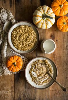 Pressure Cooker Pumpkin Pie Steel Cut Oats recipe for your Instant Pot or Electric Pressure