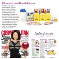 Clean 9 really does improve weight, health and energy Find out more at ; www.kimandterry.myforever.biz/foreverfit