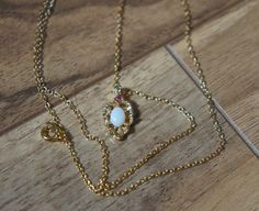 Vintage Jewelry  Chain  Necklace Gold ,Pendant ,Pearl, CZ , Filigree ,Choker  A-031 by VintageEstate86 on Etsy