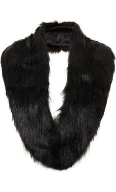 Faux Fur Stole by Topshop