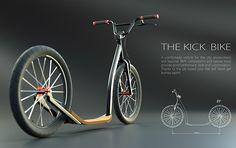 """Kick bike 20"""" on Behance"""