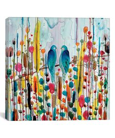We Birds Replica Gallery-Wrapped Giclée Canvas | zulily