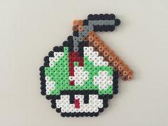 Perler bead mushroom pickaxed - by Bjrnbr