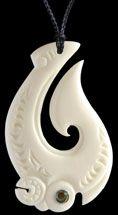 Hei-Matau Bone Carving