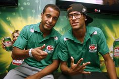 Lucas Moura & Neymar