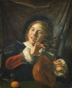 TICMUSart: Boy with a Lute - Frans Hals (1625) (I.M.)