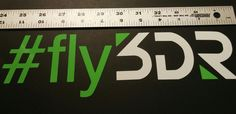#fly3DR, set of 2 decals, Drone 3DR UAV Decal car window die cut vinyl  | eBay Motors, Parts & Accessories, Car & Truck Parts | eBay!