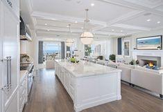 Ultimate California Beach House with Coastal Interiors | Home Bunch - An Interior Design & Luxury Homes Blog | Bloglovin