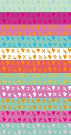 Bows, hearts and LRS (Lana Red Studio) Print!!