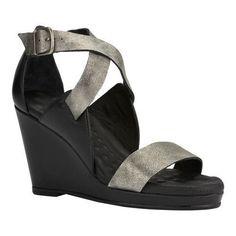 Women's Walking Cradles Karson Wedge Sandal Black Maia/