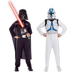 Star Wars - Darth Vader & Clone Trooper Dress Up Set