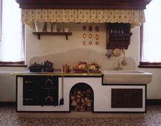 Kitchen Island, Shabby Chic, Ariel, Design, Home Decor, Outside Wood Stove, Houses, Kitchens, Island Kitchen
