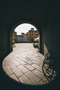 Beautiful Portals  elenamorelli:  { piazza dell'anfiteatro - lucca, tuscany }  (via alucardoo)
