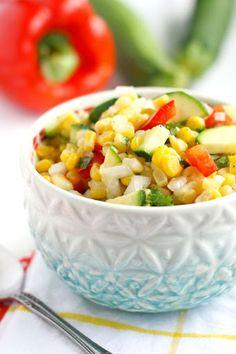 Picnic Corn Salad. Recipe on Yummly. @yummly #recipe