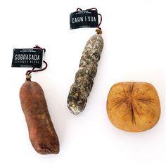 Productos de Menorca, sobrasada, queso Mahón y carn i xua