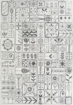 by Lu Summers . . . ღTrish W ~ http://www.pinterest.com/trishw/ . . . #doodle